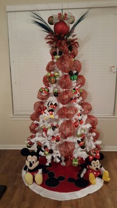 mickey mouse christmas tree ms