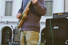 Sugar Worms, Andrea Cortenova - Fotografie di Chiara Arrigoni. Concerto Resistente del 25 Aprile 2016 in Piazza Garibaldi con Sugar Worms: Fabio Sozzi, Andrea Cortenova... #rock #live #lecco #25aprile