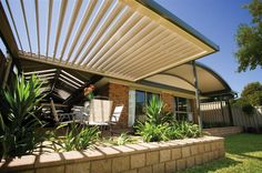 We provide Stratco Outback sunroof options can incorporate either flat designs.