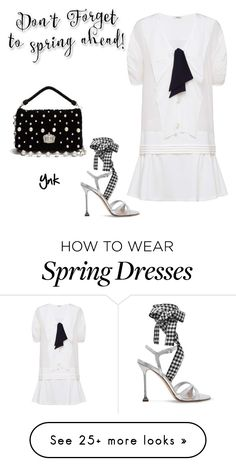 """Spring dress"" by ynk24 on Polyvore featuring Miu Miu"
