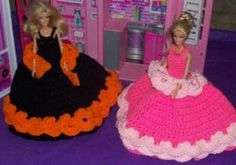 Let's Get Formal~For Barbie or Fashion Dolls - Free Original Patterns - Crochetville