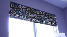 How to sew a roman blind.