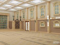 банкетный зал: зd визуализация, интерьер #3dvisualization #interior arXip.com
