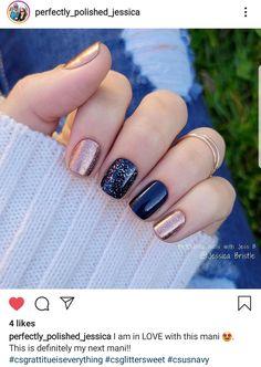 Get Nails, How To Do Nails, Hair And Nails, Shellac Nails, Acrylic Nails, Navy Nails, Nail Color Combos, Gel Nail Colors, Dipped Nails