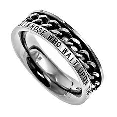 Strength Isaiah Spinner Ring