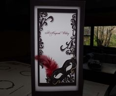 Cute Wedding Invitation Idea Since My Husband Wants It To Be A Masquerade  Theme. Here Is The Perfect Invite!