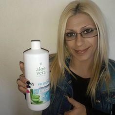Diário feminino: Meu Gel Bebível LR  de Aloe Vera Natural - Freedom...
