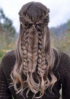 Gorgeous Mixed Braid Hairstyle 2017