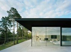 Överby - summer house - minimalist architecture by John Robert Nilsson Arkitektkontor