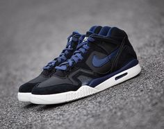 "wholesale dealer ba72c f859e Nike Air Tech Challenge II ""Obsidian"" sneakers Sneakers Nike, Nike Tennis"