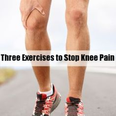 4 Exercises for Aching Knees - Scrubbing In