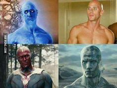 Worlds strongest bald men