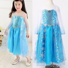 High Quality Girl Dress Princess Children Clothing Anna Elsa Cosplay Costume Kid's Party Festival Dress Baby Girls Clothes Gift - http://fashionfromchina.net/?product=high-quality-girl-dress-princess-children-clothing-anna-elsa-cosplay-costume-kid-s-party-festival-dress-baby-girls-clothes-gift