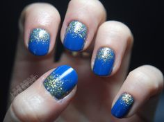 Glitter fade - one of my favorite nail inspirations this winter.
