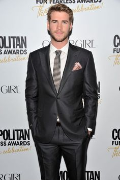 Liam Hemsworth from Hunger Games