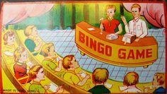 1960s BINGO Game - So Much More fun than TV Quiz Shows...Made in Hong Kong in | eBay