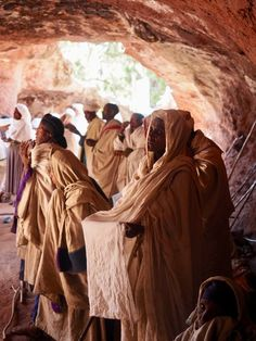 The Sacred Rock Churches of Lalibela, Ethiopia - photo Nathalie Stoclet Ethiopia Travel, Kenya Travel, Africa Travel, Vintage Photographs, Vintage Photos, Spiritual Church, Cave City, Westerns, Underwater Photography