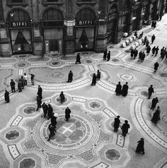 La galleria after the war, Federico Patellani