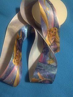 Rapunzel Satin Ribbon / 2  50 mm  width /Head by Universalideas