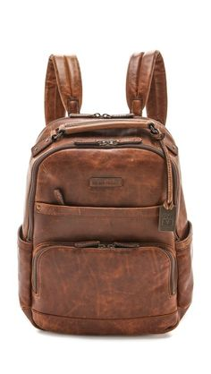 Frye Logan Backpack  448 Backpack Travel Bag, Travel Bags, Brown Leather  Backpack, Leather f701b8baff