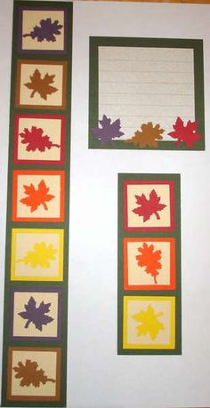 Searchwords: Fall Leaves