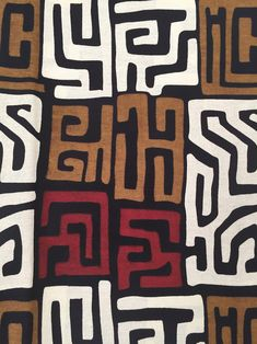 African Fabric Per Yard African Quilts, African Textiles, African Fabric, Tribal Patterns, Textile Patterns, Print Patterns, Textile Art, African Design, African Art