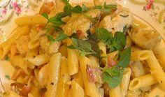 Chicken & Artichoke Penne : Food : The Home Channel