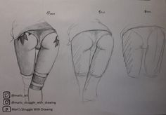 "Butts ""Speed Drawing Challenge"" (not by me)"