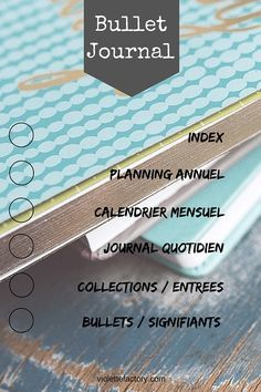 Le Bullet Journal: Ressources & Inspirations