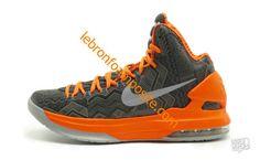 Kevin Durant shoes 2013 KD V BHM Anthracite Pure Platinum Sport Grey 586768 071
