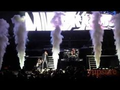 Skillet Hero Live HD...this is the Carnival of Madness concert from The Mann Center in Philly, PA. we were at. Watch and see if you can see a girl with a pan on her head. Because I can't find myself...