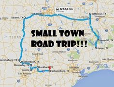 Take This Road Trip Through Texas' Most Picturesque Small Towns For An Unforgettable Experience - Awesome Road Trip Through Beautiful Small Towns In Texas - Texas Vacations, Texas Roadtrip, Texas Travel, Road Trip Usa, Travel Usa, Family Vacations, Texas Getaways, Camping Texas, Texas Vacation Spots