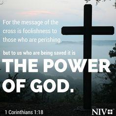 NIV Verse of the Day: 1 Corinthians 1:18