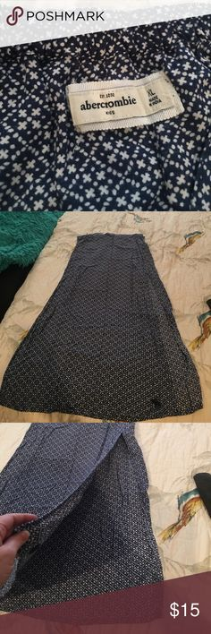 Maxi skirt with slits good condition Very nice maxi skirt. Bottoms Skirts