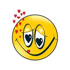 smiley amoureux smiles emoticons pinterest. Black Bedroom Furniture Sets. Home Design Ideas