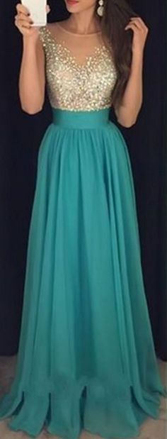#green #chiffon #prom #party #evening #dress #dresses #gowns #cocktaildress #EveningDresses #promdresses #sweetheartdress #partydresses #QuinceaneraDresses #celebritydresses #2016PartyDresses #2016WeddingGowns #2017Homecomingdsses #LongPromGowns #blackPromDress #AppliquesPromDresses #CustomPromDresses  #backless #sexy #mermaid #LongDresses #Fashion #Elegant #Luxury #Homecoming  #CapSleeve #Handmade #beading