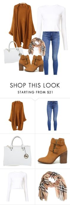 """Untitled #17"" by amela83 ❤ liked on Polyvore featuring Levi's, Michael Kors, Steve Madden, Proenza Schouler and Burberry"