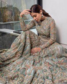 Pakistani Gowns, Pakistani Formal Dresses, Pakistani Bridal Wear, Bridal Lehenga, Pakistani Actress, Indian Bridal, Desi Wedding, Wedding Gowns, Wedding Outfits