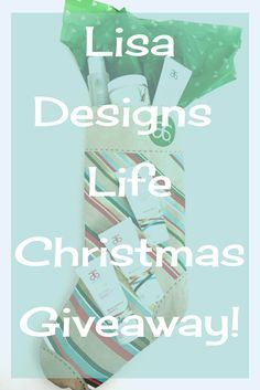 Lisa Designs Life Holiday Giveaway! A stocking filled with over $200 of Arbonne natural skin care products and you can win! Follo @lisadesingslife on Instagram then click this image to head over to the blog, wait for the pop up form, enter your details and you are in! Good luck! A random draw of all qualified entrants will be held Dec. 1, 2017. The winner will be notified via email. Good luck!