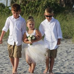 Destination Wedding Beach RIng Bearer aboutdetailsdetailscom