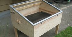There are many designs for solar food dehydrators and we decided to use the design by Eben Fodor in his book: The Solar Food Dryer . Here...