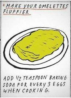 Fluffy Omelette Trick