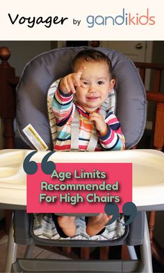 """A lot of parents have discussed the question, """"when is baby ready for high chair?"""" There are a couple of factors to consider, such as their age and their readiness to sit in proper positioning. For more, please visit  www.gandikids.com. #baby #kids #toddler #babyhighchair #parents #highchair #modern #kidblog #mom #child #mother #babyproduct"""