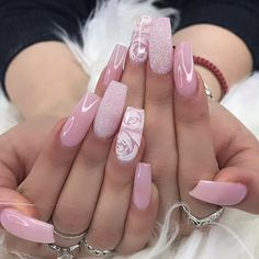 It& the summer time baby! Which is why we found 19 Super Fresh Nails to Rock Summer All of these nails are very fresh, trendy and looks absolutely stunning. The post 19 Super Fresh Nails to Rock Summer 2019 appeared first on Suggestions. Pink Nail Designs, Pretty Nail Designs, Best Nail Art Designs, Pretty Nail Art, Fall Nail Designs, Acrylic Nail Designs, Nails Design, Nail Polish Designs, Pink Acrylic Nails