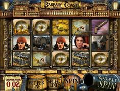 Play the 3D video slots game Barbary Coast for money or for free at 1onlinecasino.com