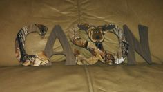 Camo baby sign