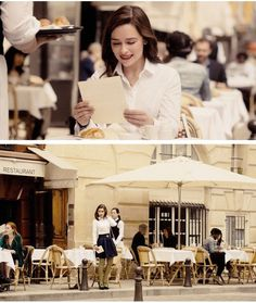 Louisa in Paris, France in Me Before You