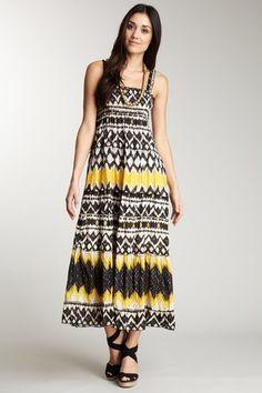 Chaudry printed smock tiered maxi dress  HauteLook $42 (reg $109)