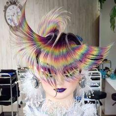 #全日本美容技術選手権大会 #ヘアスタイル競技 #入賞 #コンシュマー #クリエイティブ #コンクール #コンテスト #レインボー #福岡 #春日市 #美容室 #美容師 #全国大会 #フーバ #フクビ #hair #hairstyle #hairfashion #haircut #haircolor #hairstylist #hairdressing #hairstyles #rainbow #color #omchairworld #世界大会 に出たい♪ 全方向から^_−☆ この仕上がりだったらもっと上位にいったんだろうけどな(^^;) もっともっと練習しなければ♪