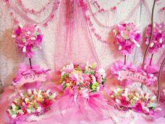 Candy bar romantica